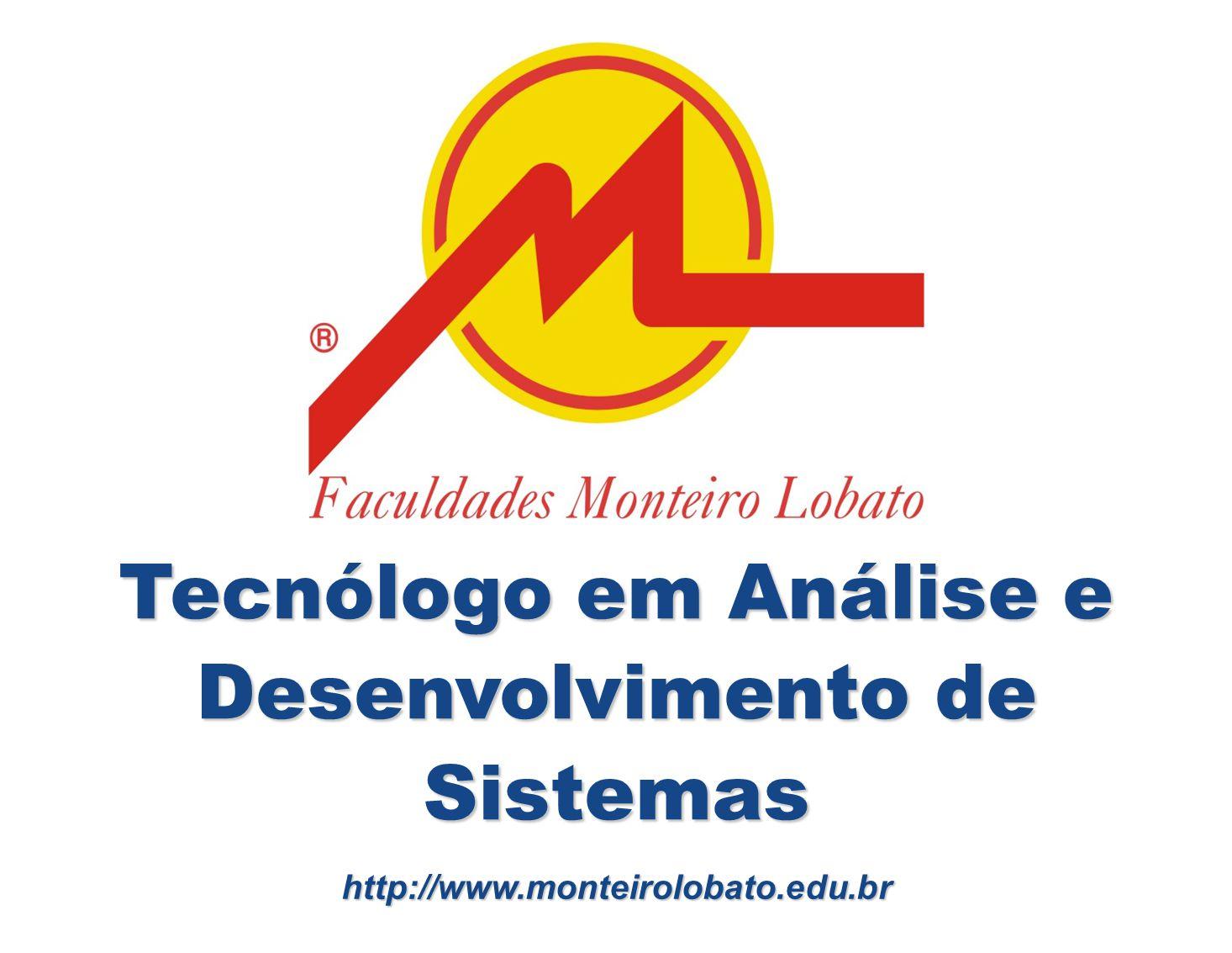 Tecnólogo em Análise e Desenvolvimento de Sistemas