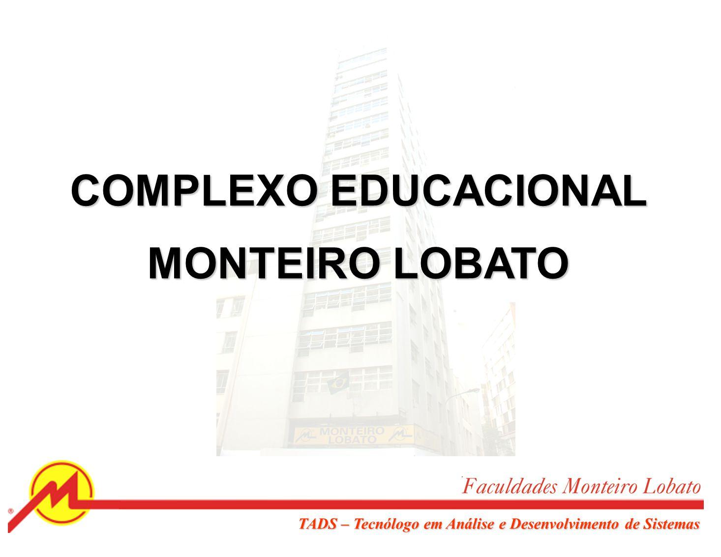 COMPLEXO EDUCACIONAL MONTEIRO LOBATO