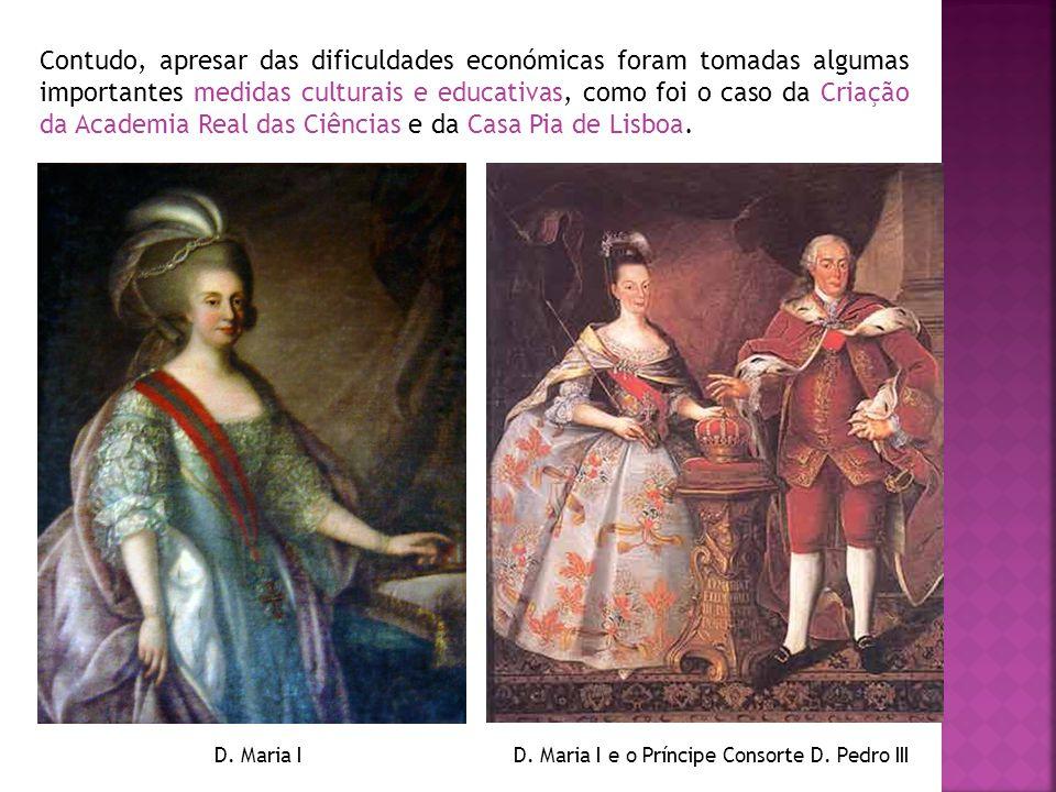 D. Maria I e o Príncipe Consorte D. Pedro III