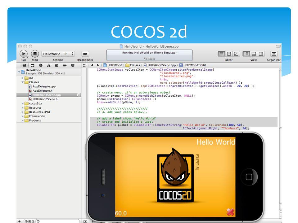 COCOS 2d