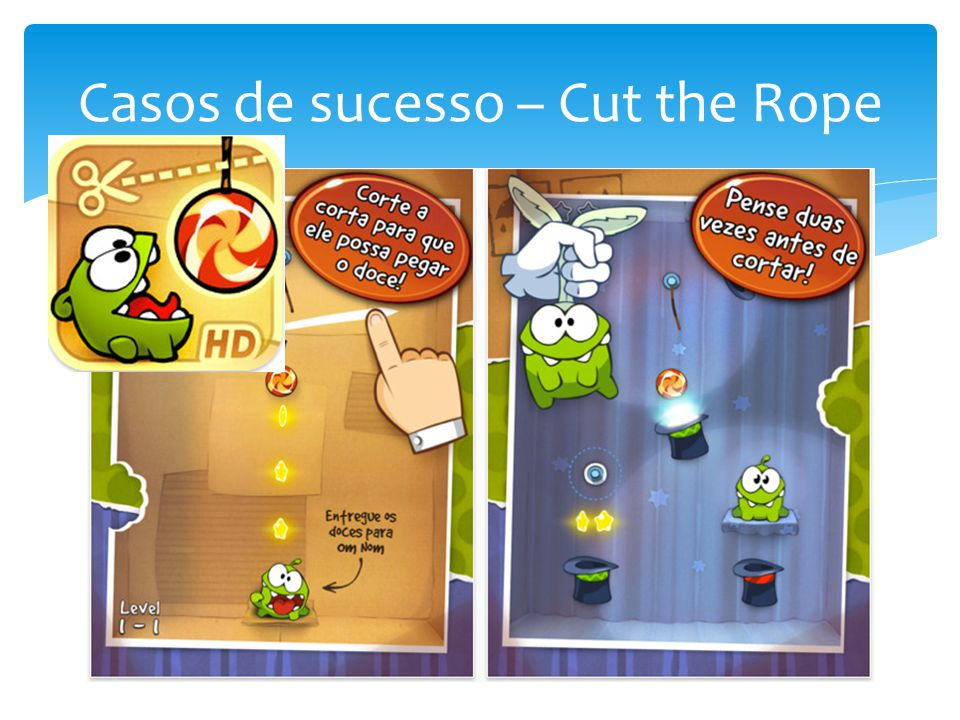 Casos de sucesso – Cut the Rope