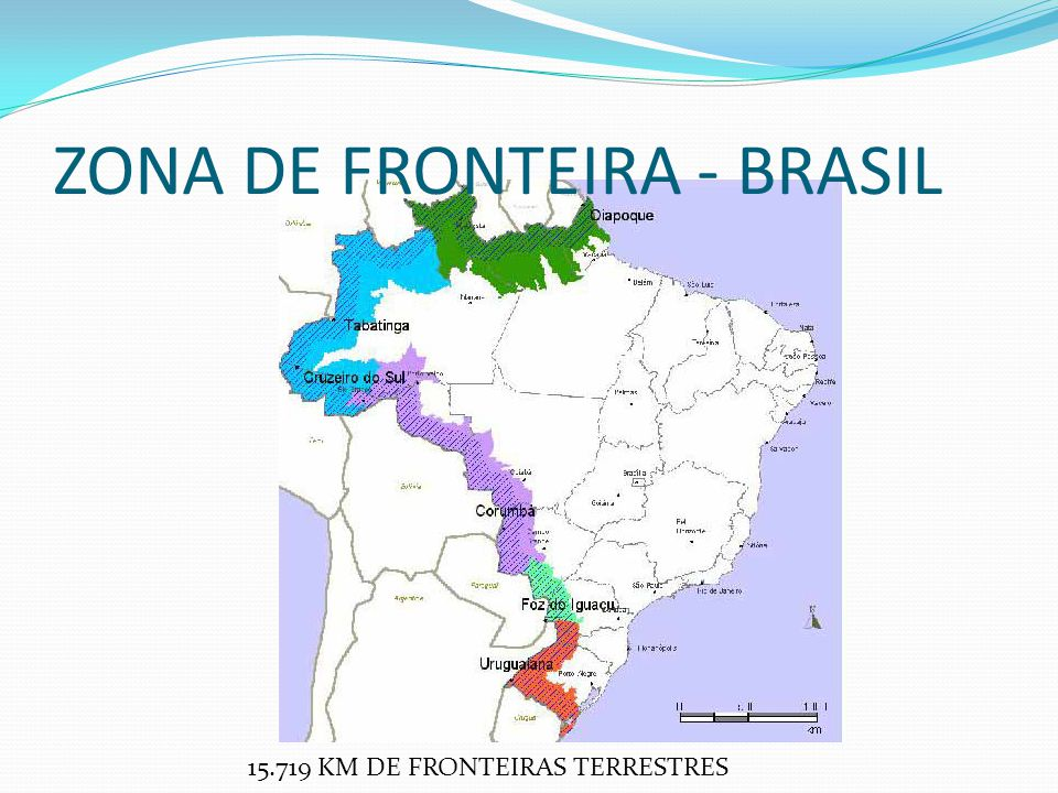 ZONA DE FRONTEIRA - BRASIL