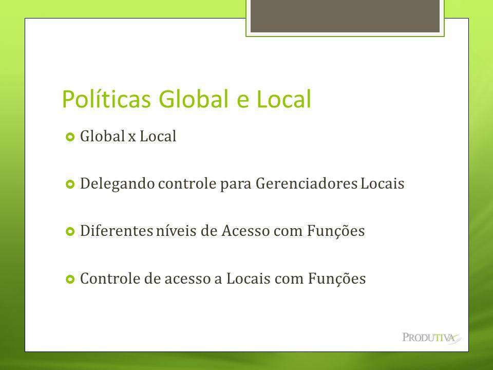 Políticas Global e Local