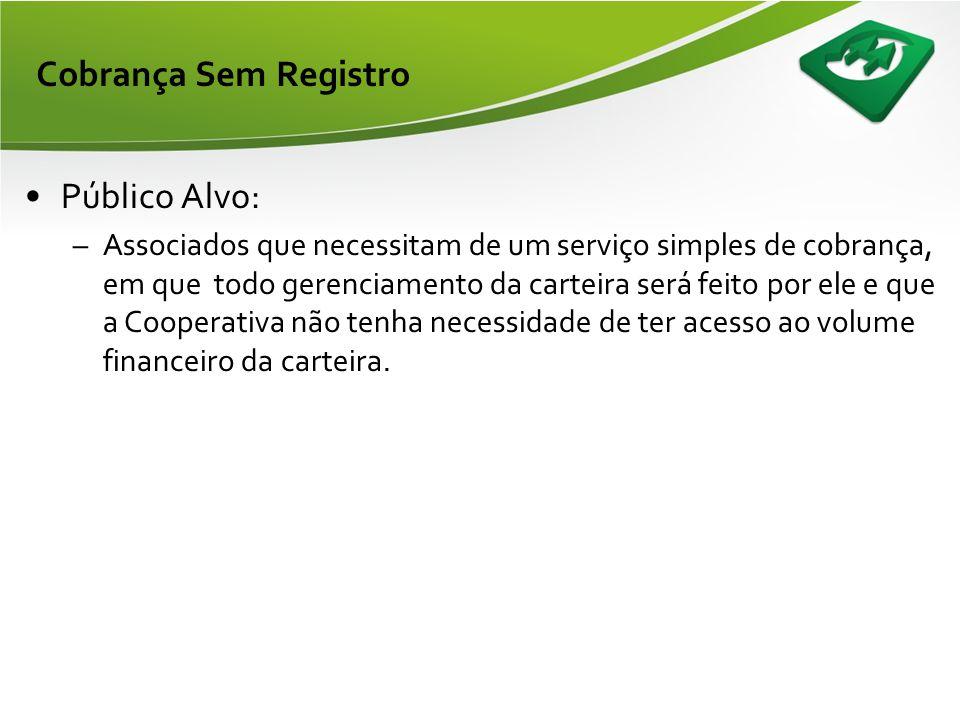 Cobrança Sem Registro Público Alvo:
