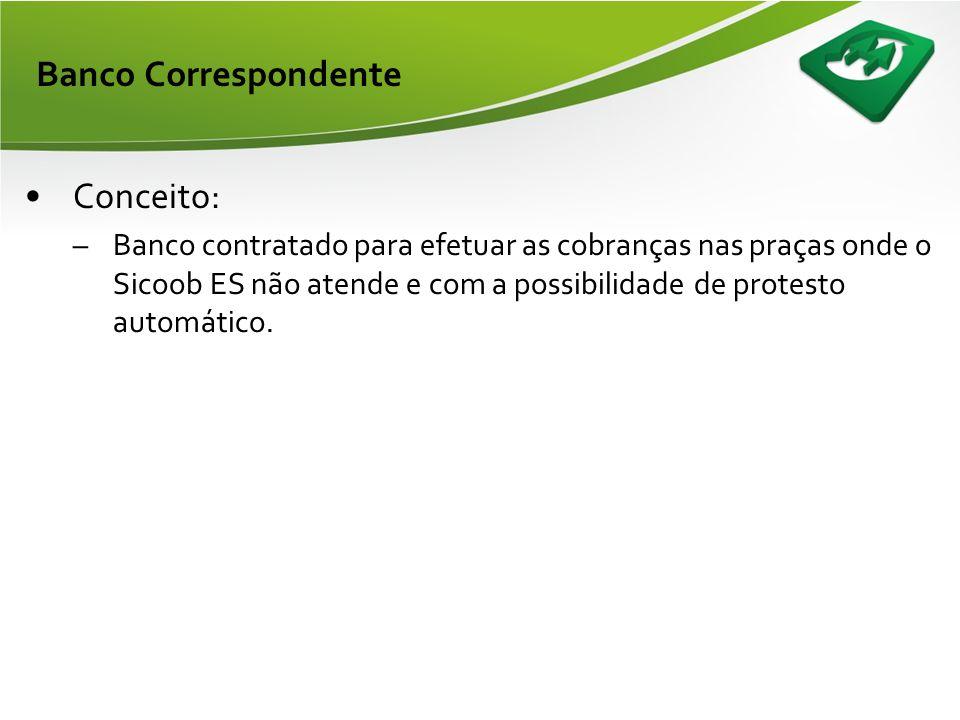Banco Correspondente Conceito: