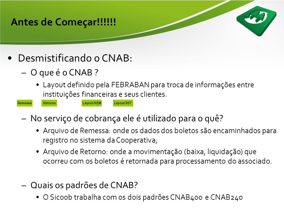 Desmistificando o CNAB: