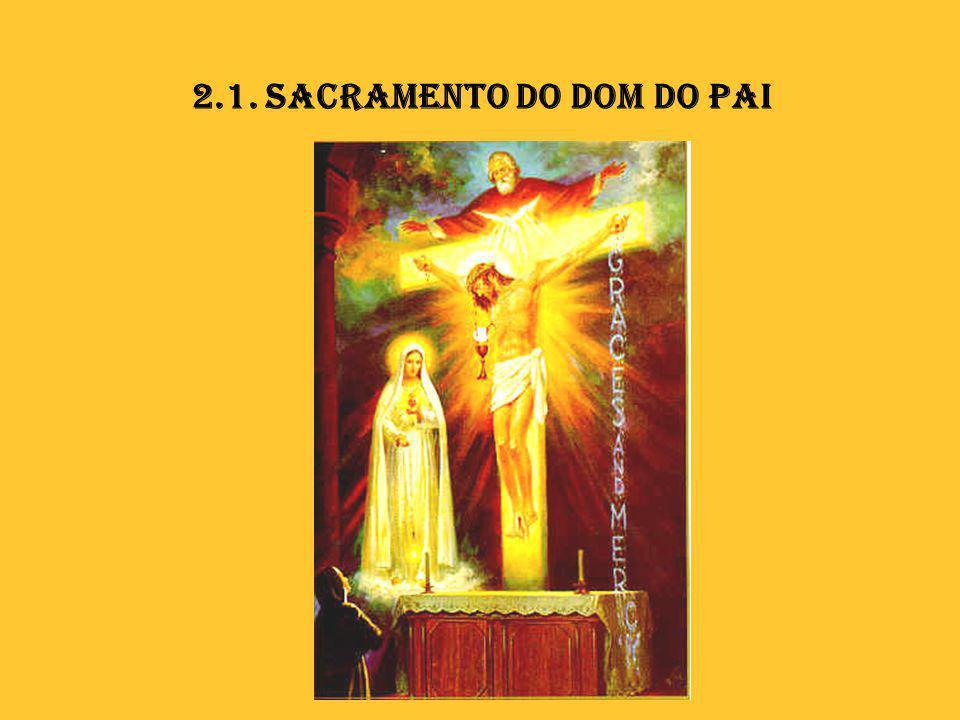 2.1. Sacramento do Dom do Pai