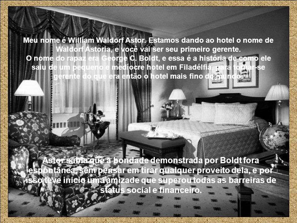 Meu nome é William Waldorf Astor