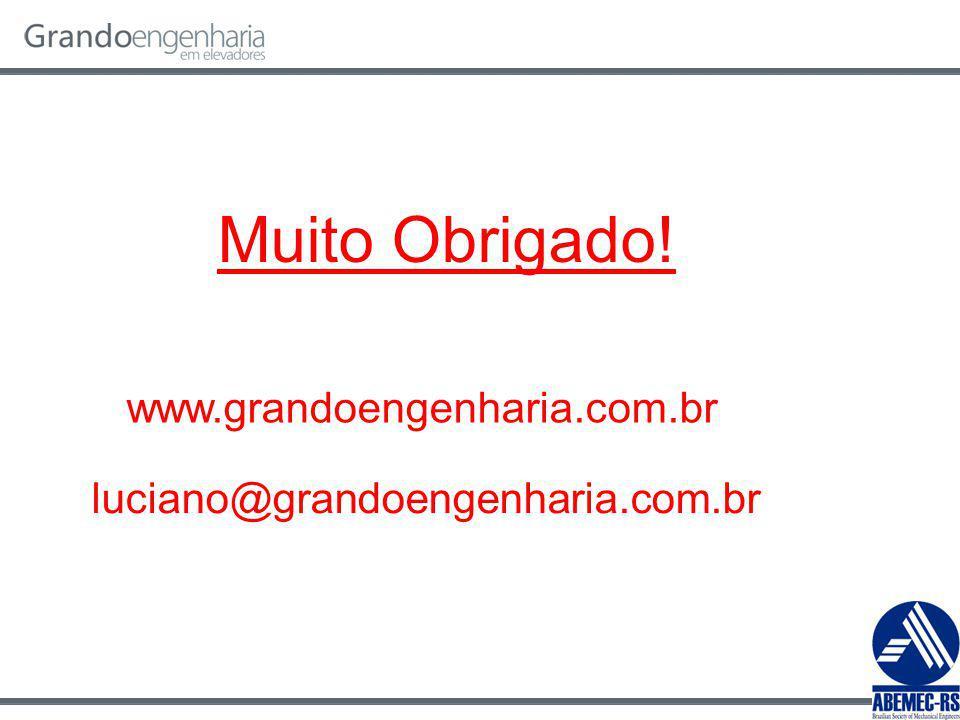 Muito Obrigado! www.grandoengenharia.com.br