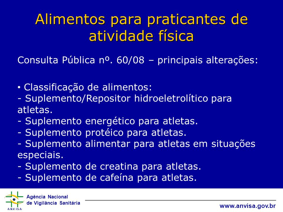 Alimentos para praticantes de atividade física