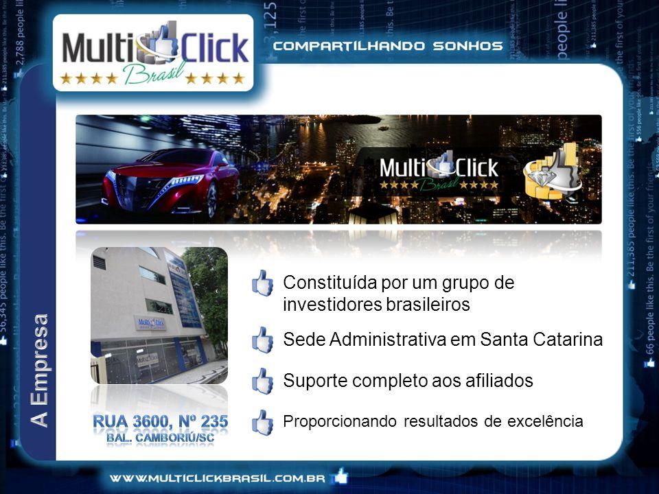 A Empresa Constituída por um grupo de investidores brasileiros