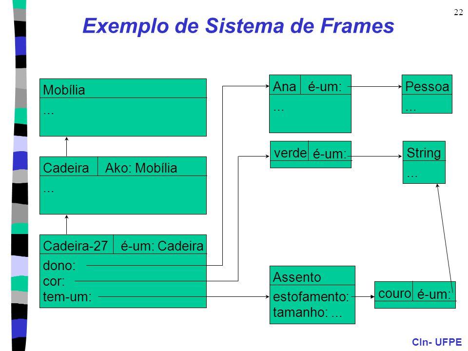 Exemplo de Sistema de Frames