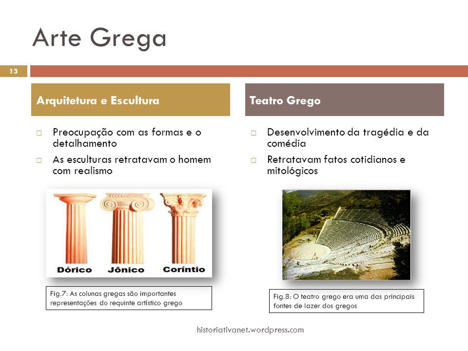 Arte Grega Arquitetura e Escultura Teatro Grego