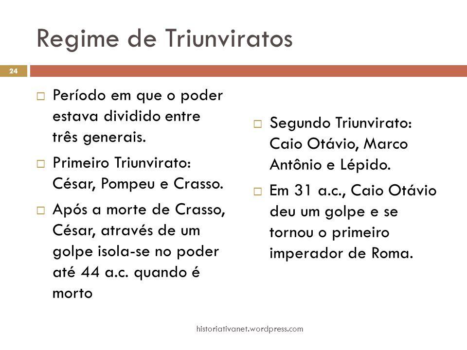 Regime de Triunviratos