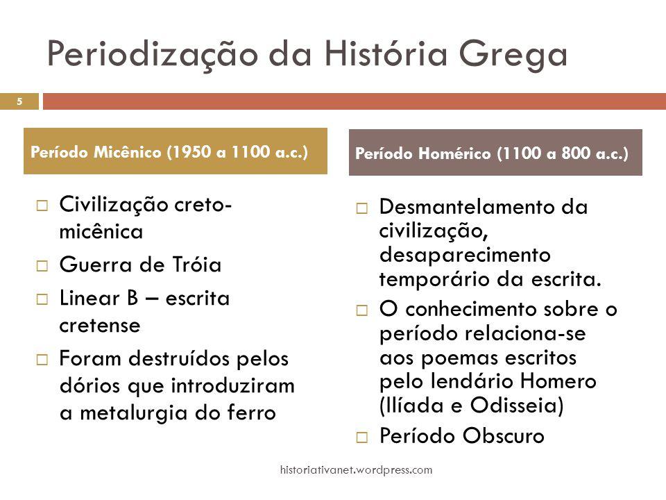 Periodização da História Grega