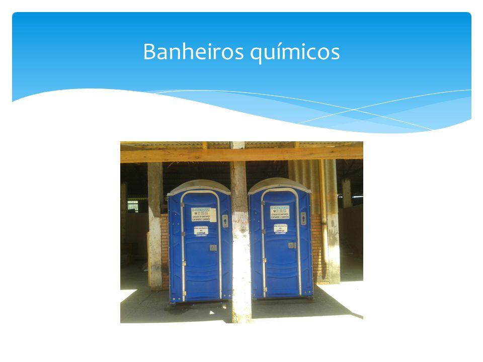 Banheiros químicos