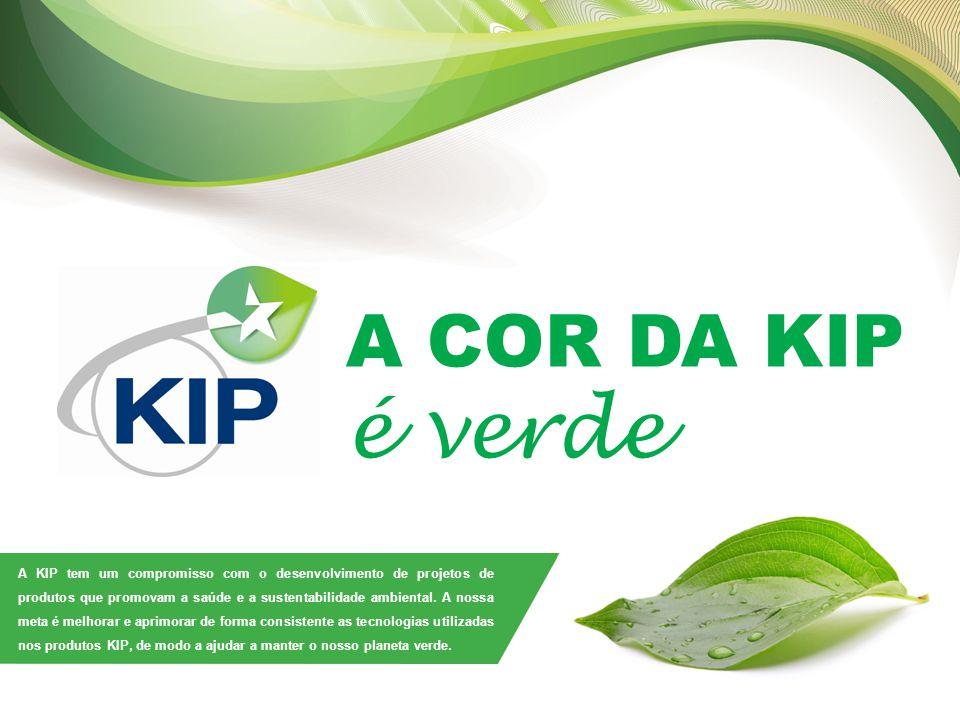 A COR DA KIP é verde.