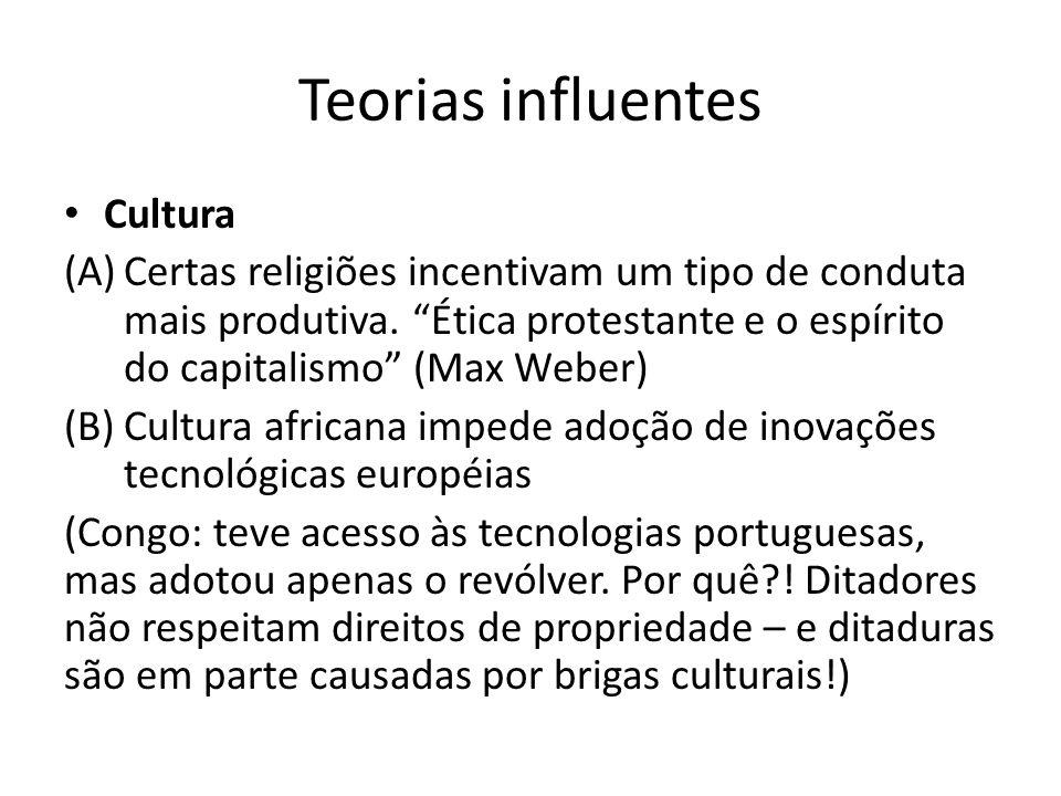 Teorias influentes Cultura