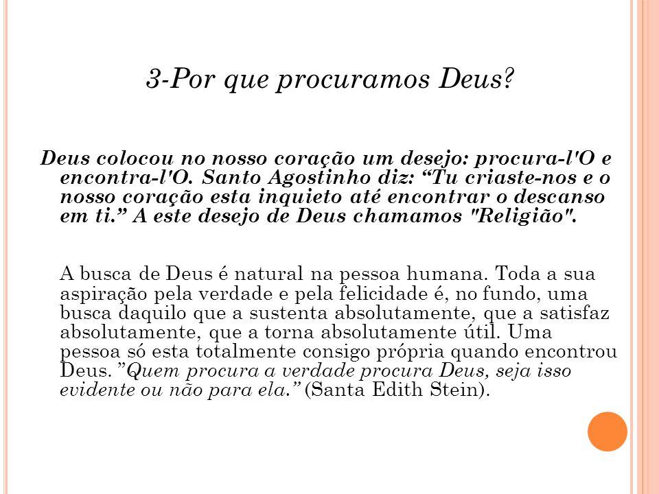 3-Por que procuramos Deus