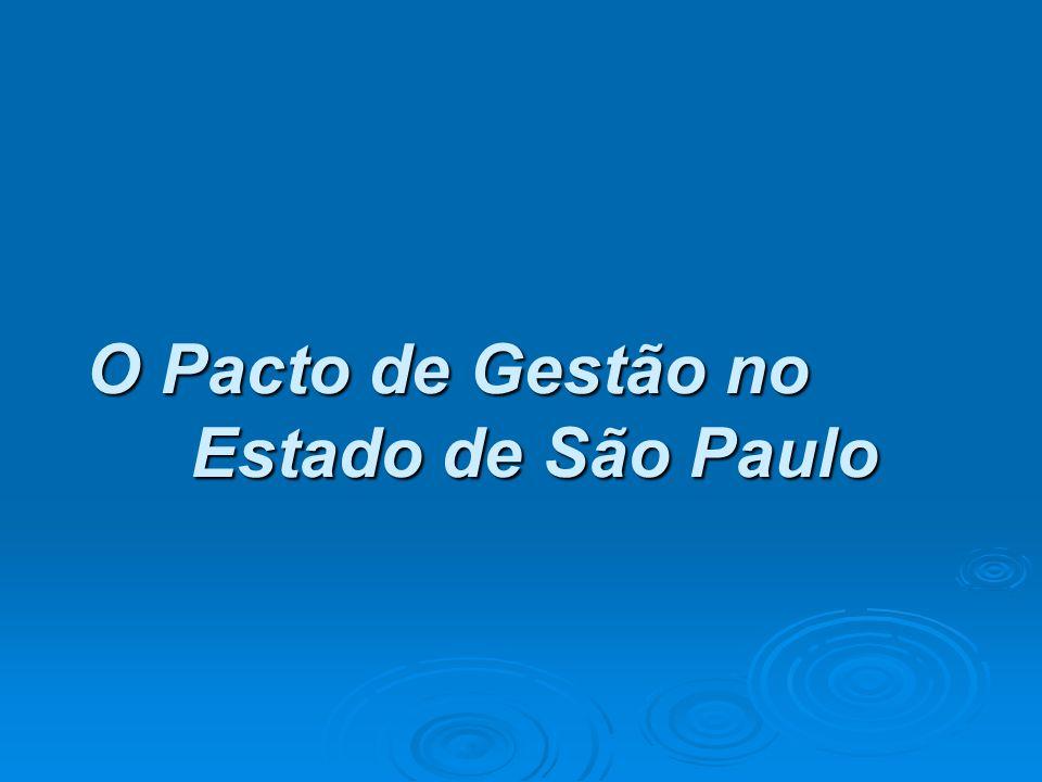 O Pacto de Gestão no Estado de São Paulo