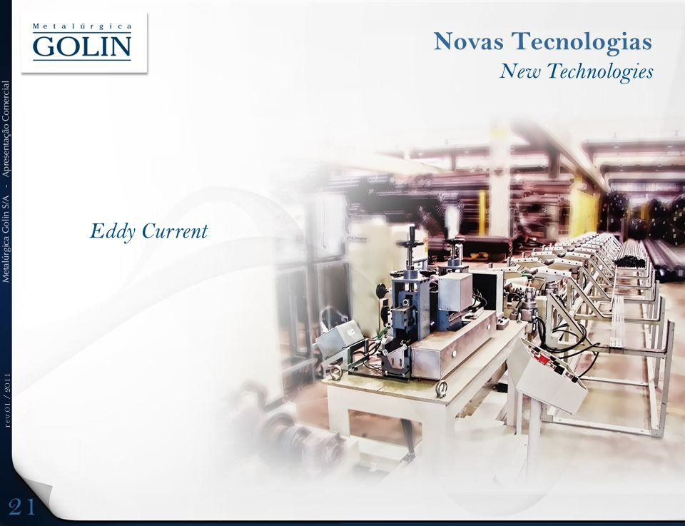 Novas Tecnologias New Technologies Eddy Current 21 DFDFD