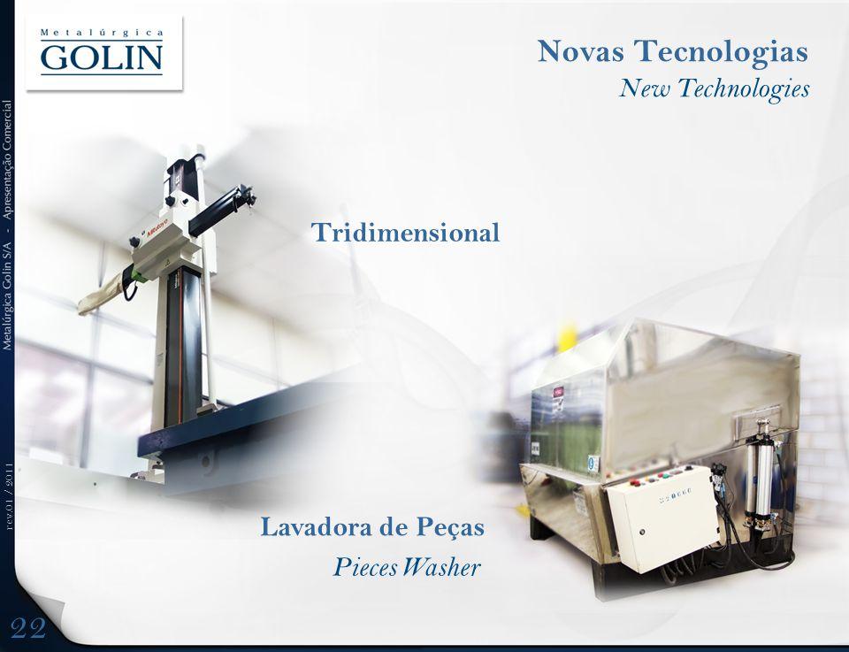 22 Novas Tecnologias New Technologies Tridimensional Lavadora de Peças