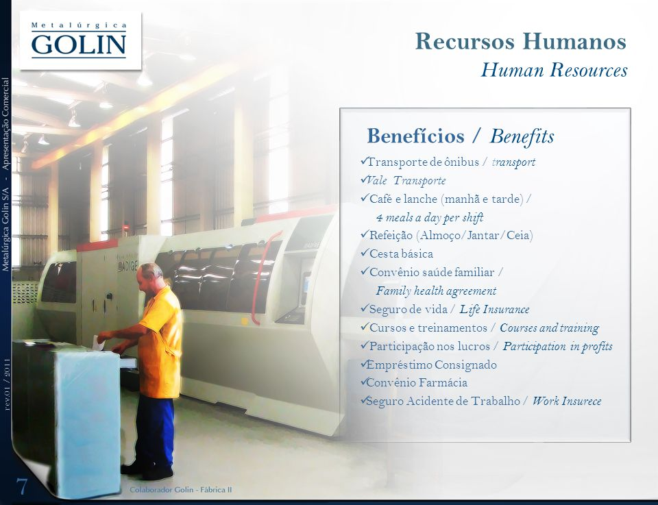 Recursos Humanos Human Resources