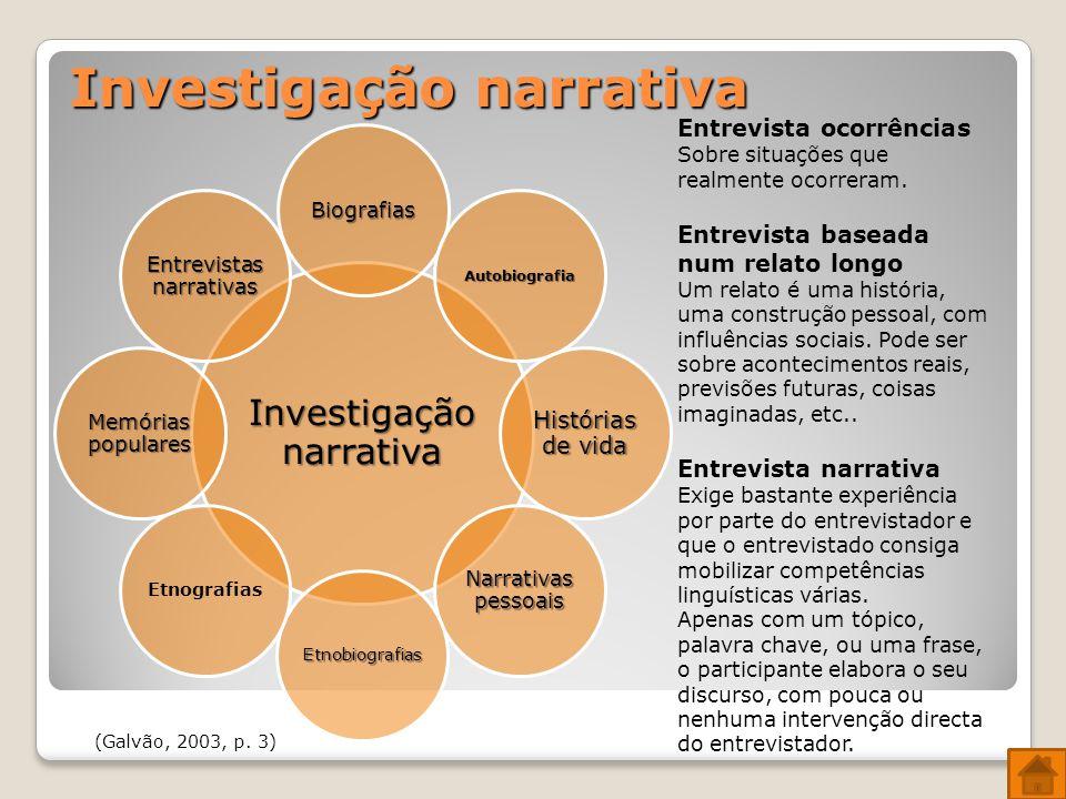 Investigação narrativa