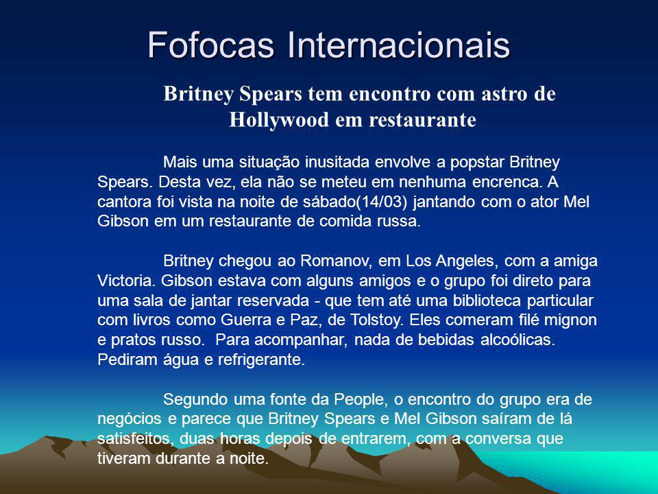 Fofocas Internacionais