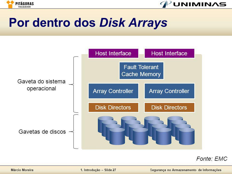 Por dentro dos Disk Arrays