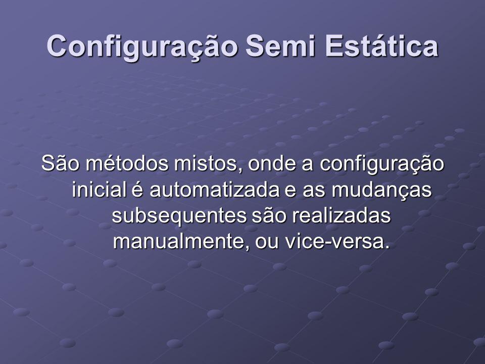 Configuração Semi Estática