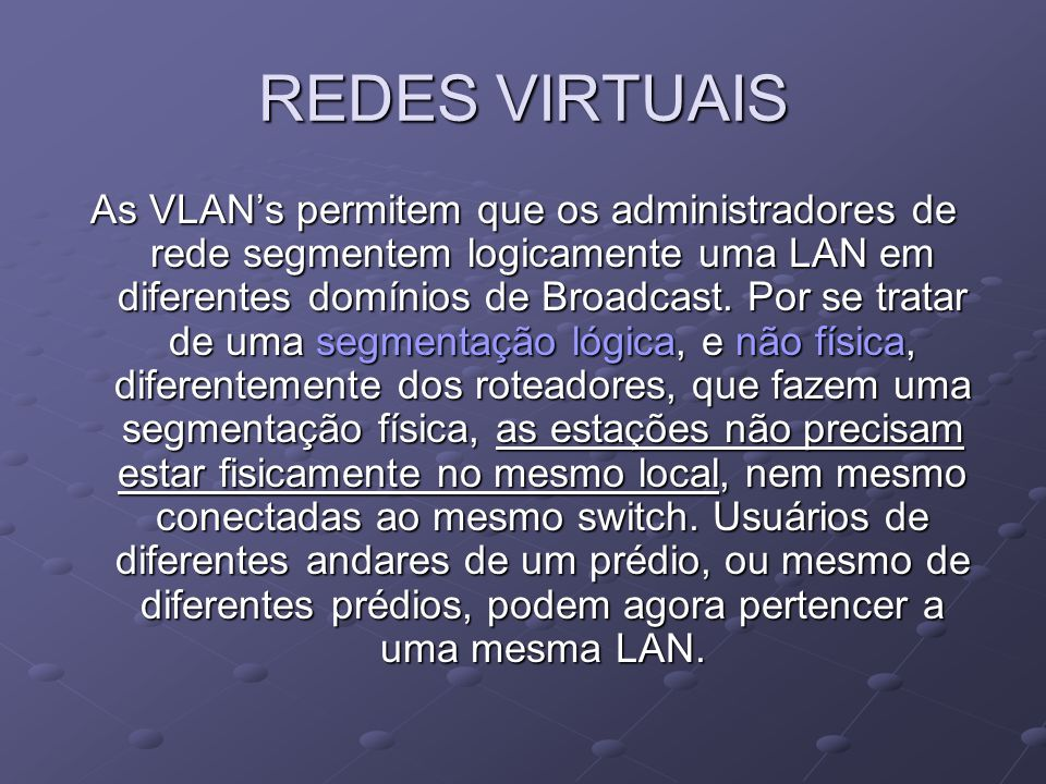 REDES VIRTUAIS