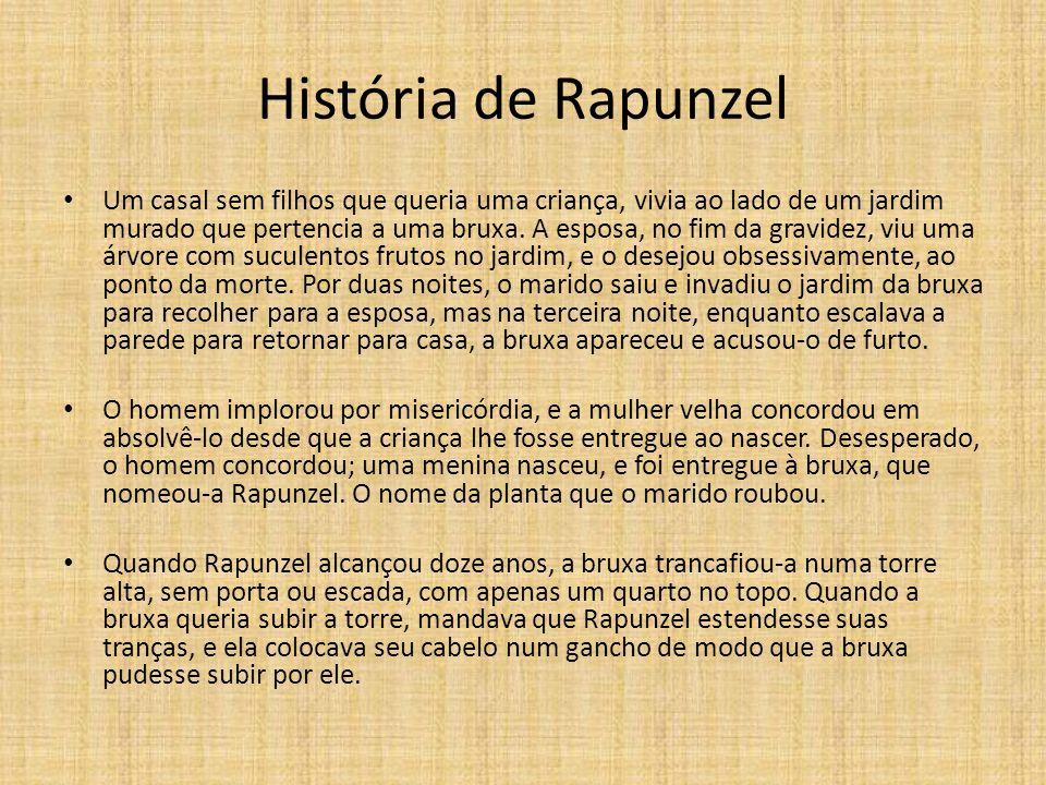 História de Rapunzel