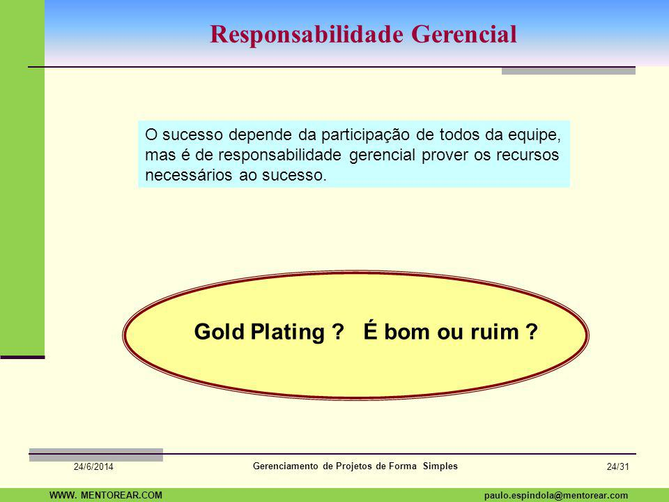 Responsabilidade Gerencial