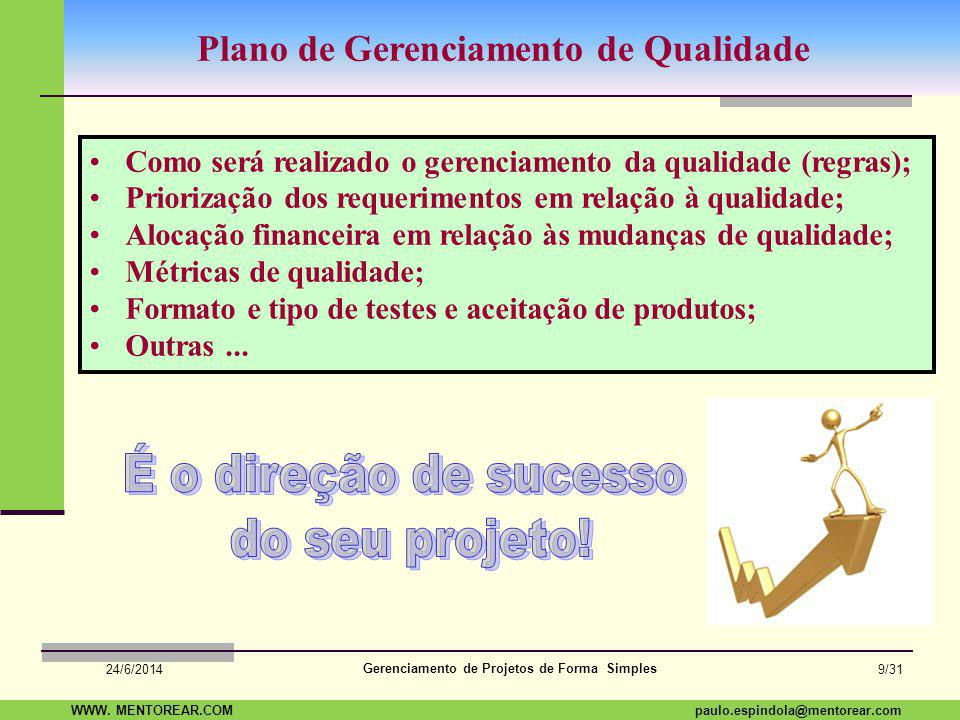 É o direção de sucesso do seu projeto!