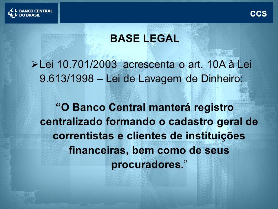 Lei 10.701/2003 acrescenta o art. 10A à Lei