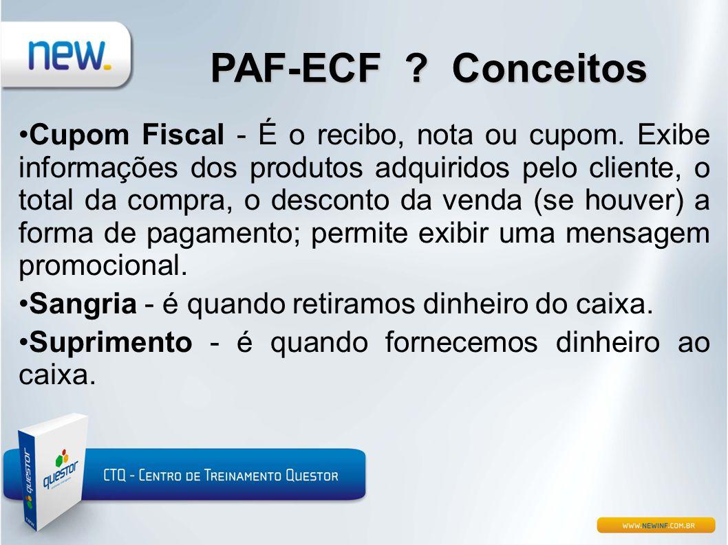 PAF-ECF Conceitos