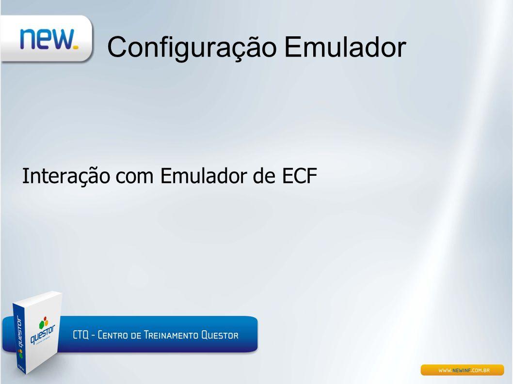 Configuração Emulador