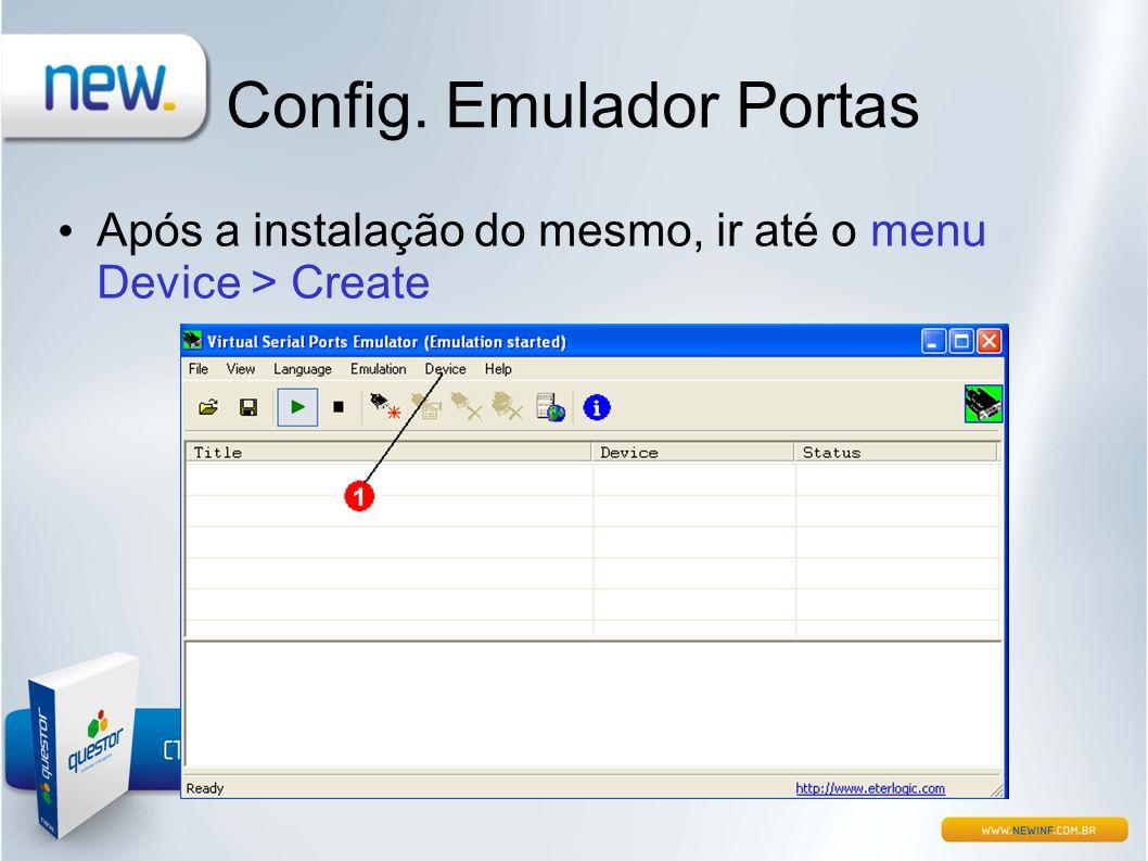 Config. Emulador Portas