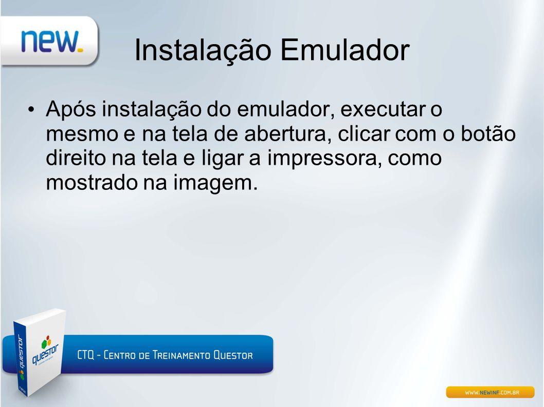 Instalação Emulador