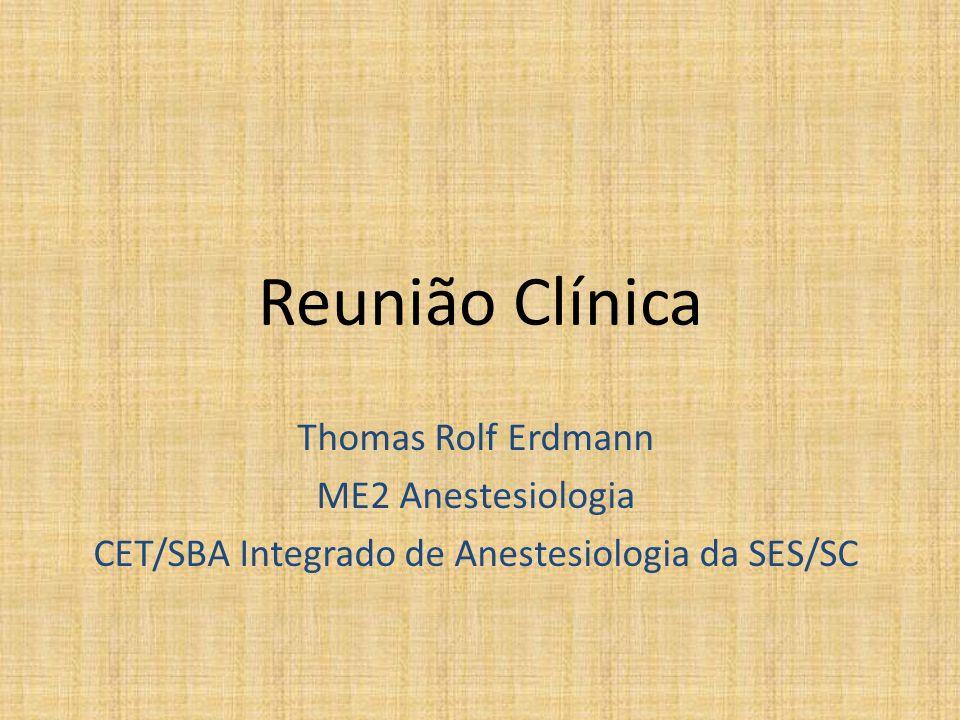 CET/SBA Integrado de Anestesiologia da SES/SC