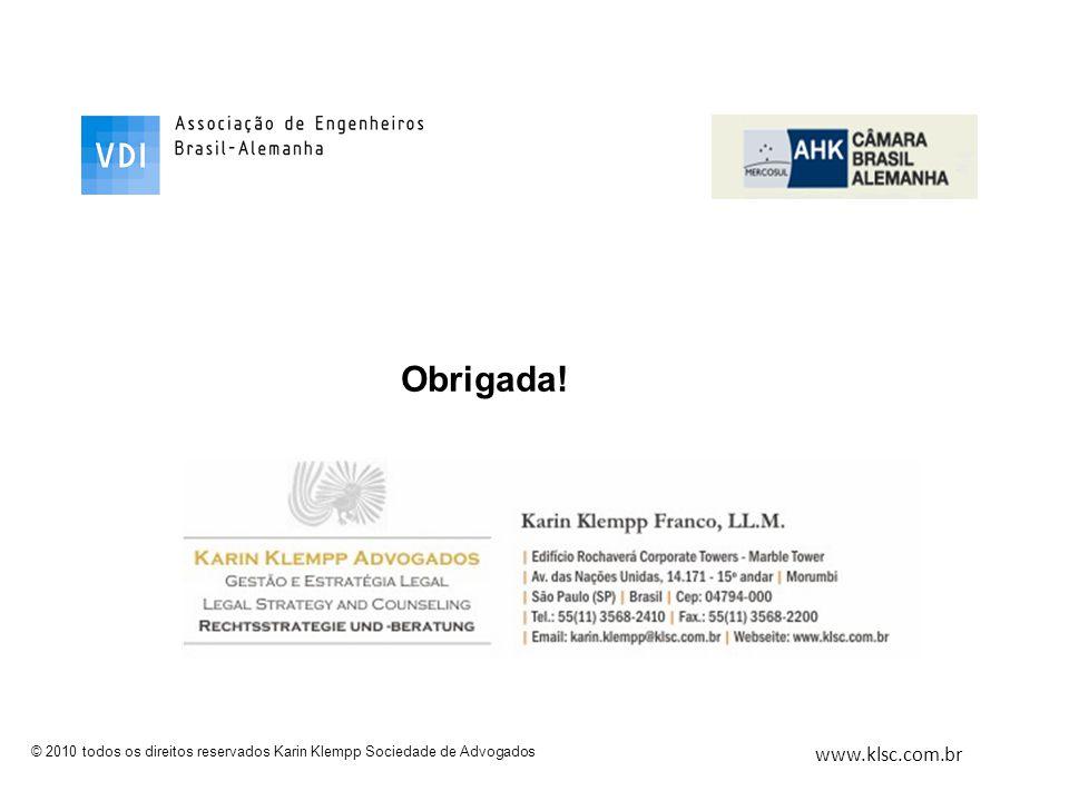 Obrigada! www.klsc.com.br
