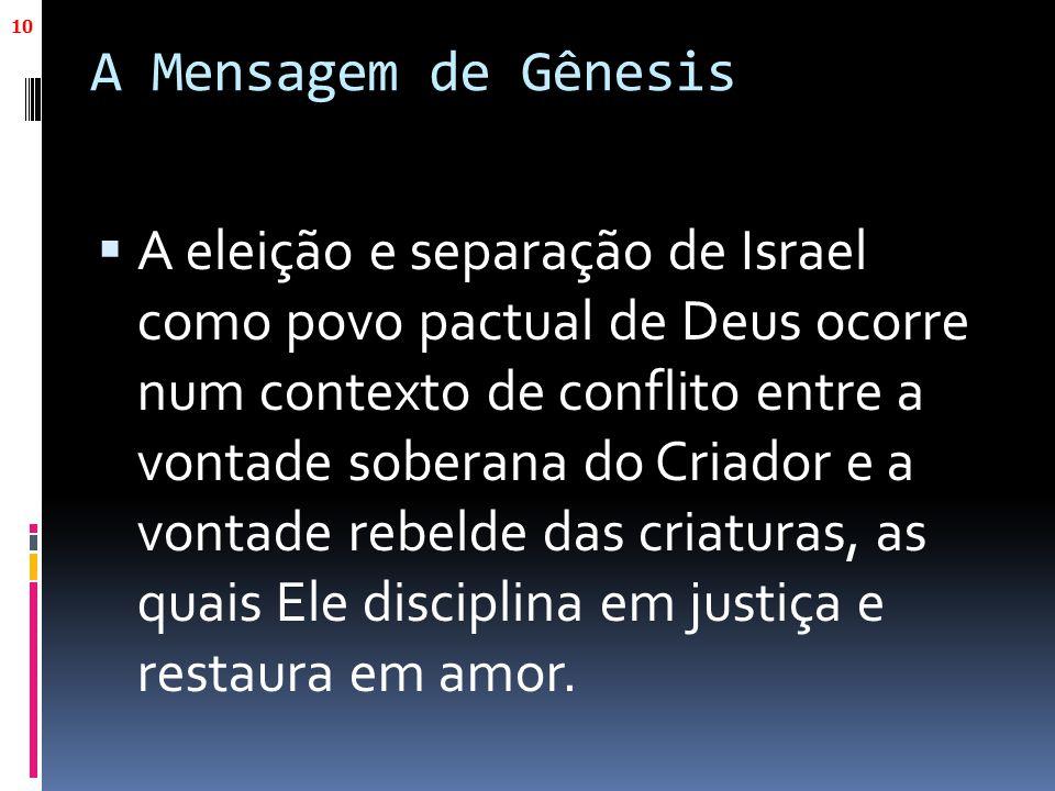 A Mensagem de Gênesis