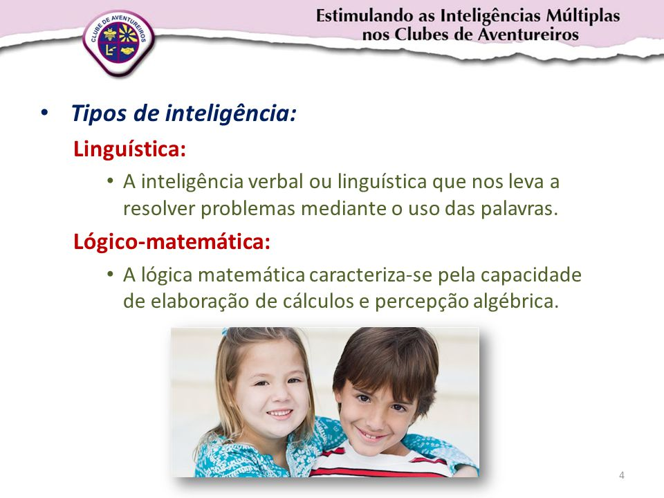 Tipos de inteligência: