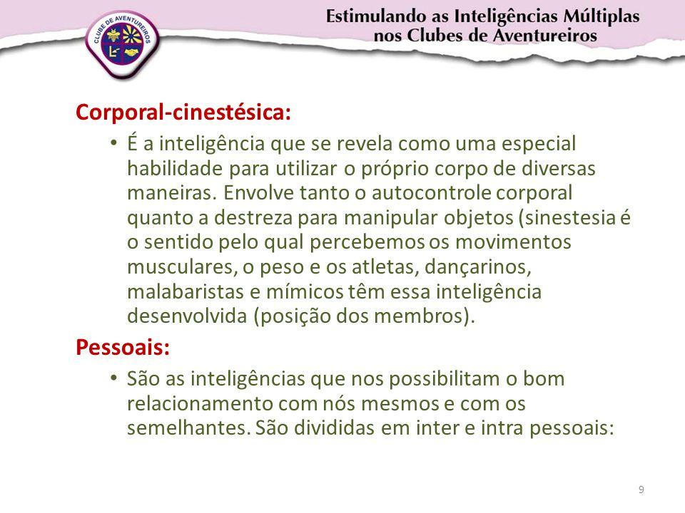 Corporal-cinestésica: