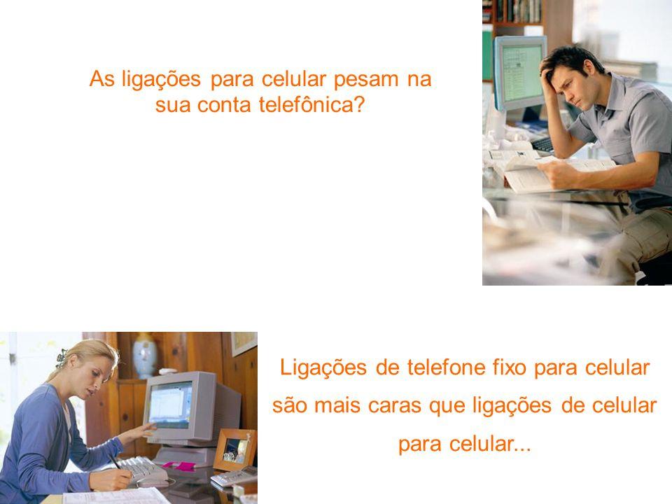 As ligações para celular pesam na sua conta telefônica