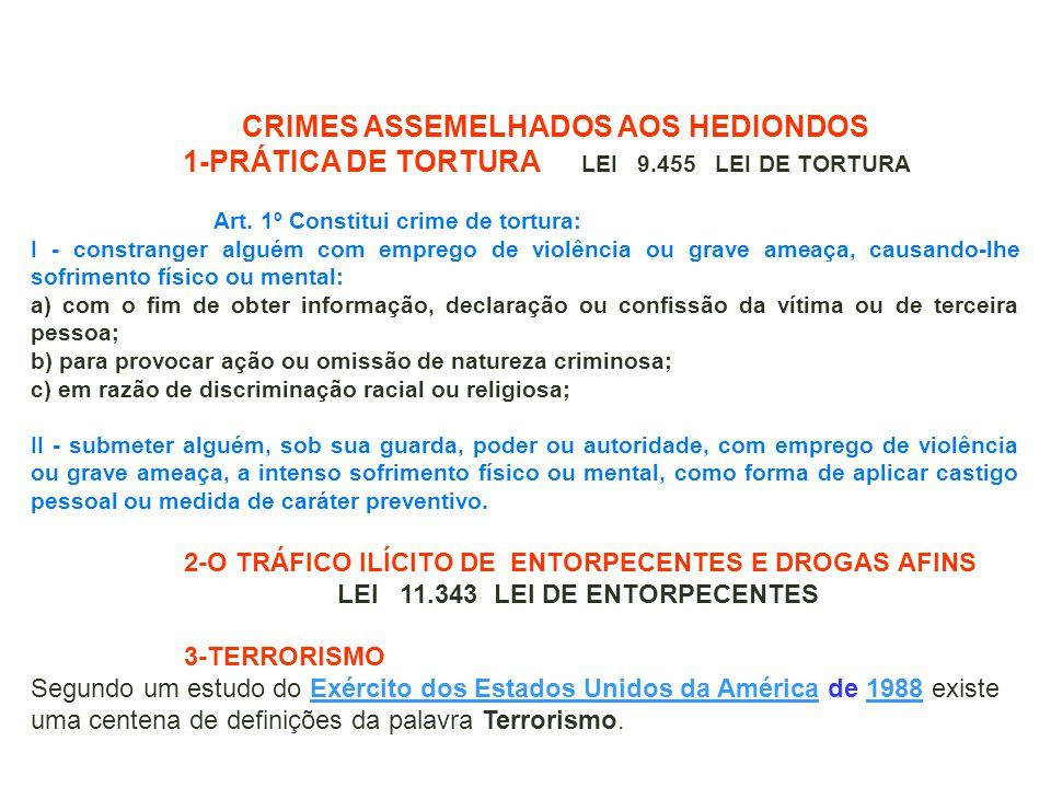 1-PRÁTICA DE TORTURA LEI 9.455 LEI DE TORTURA