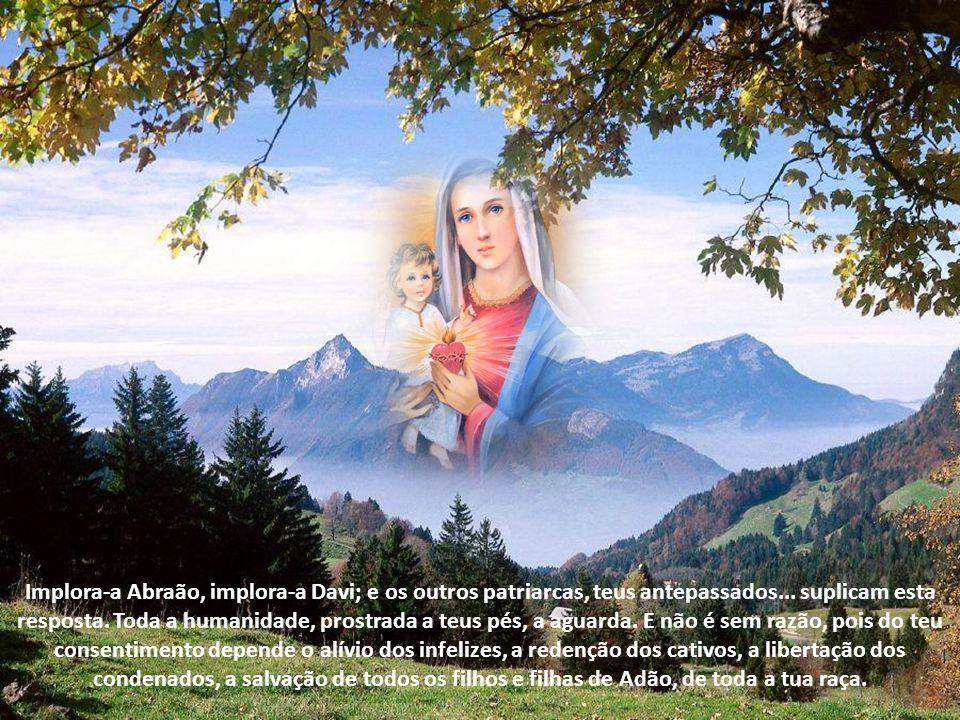 Implora-a Abraão, implora-a Davi; e os outros patriarcas, teus antepassados...