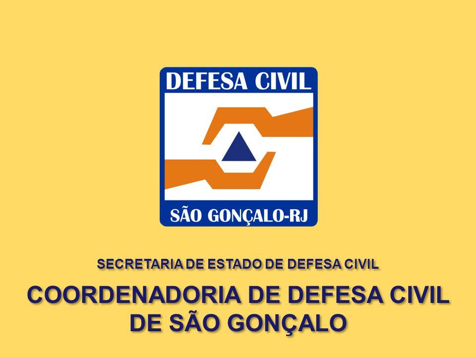 COORDENADORIA DE DEFESA CIVIL DE SÃO GONÇALO