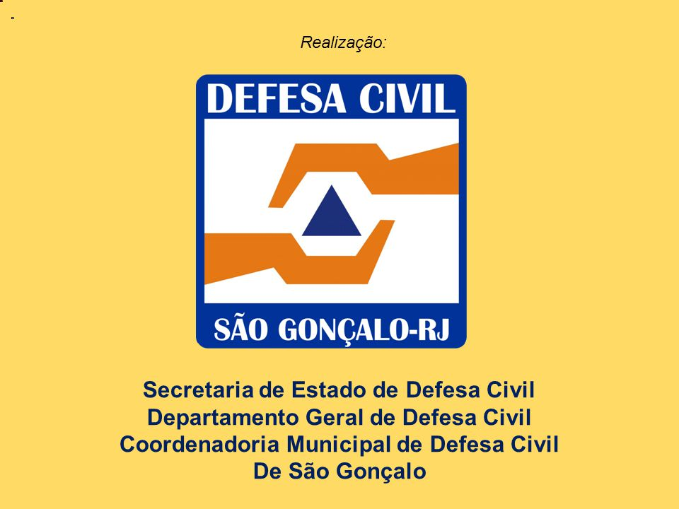 Secretaria de Estado de Defesa Civil